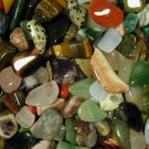 200+ Tumbled Gems 'Dime Size' Mix! 1 lb Polished Stones