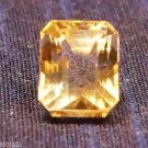 5.85 carat Emerald cut Citrine Gemstone (315)