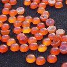 Round Carnelian Gemstone for Jewellery Ring Pendant 20 pcs set 4 mm (691)