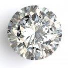 6.19 Carat E I1 Round 100% Natural Loose Diamond Huge Rare Size 11.47 mm Hurry!