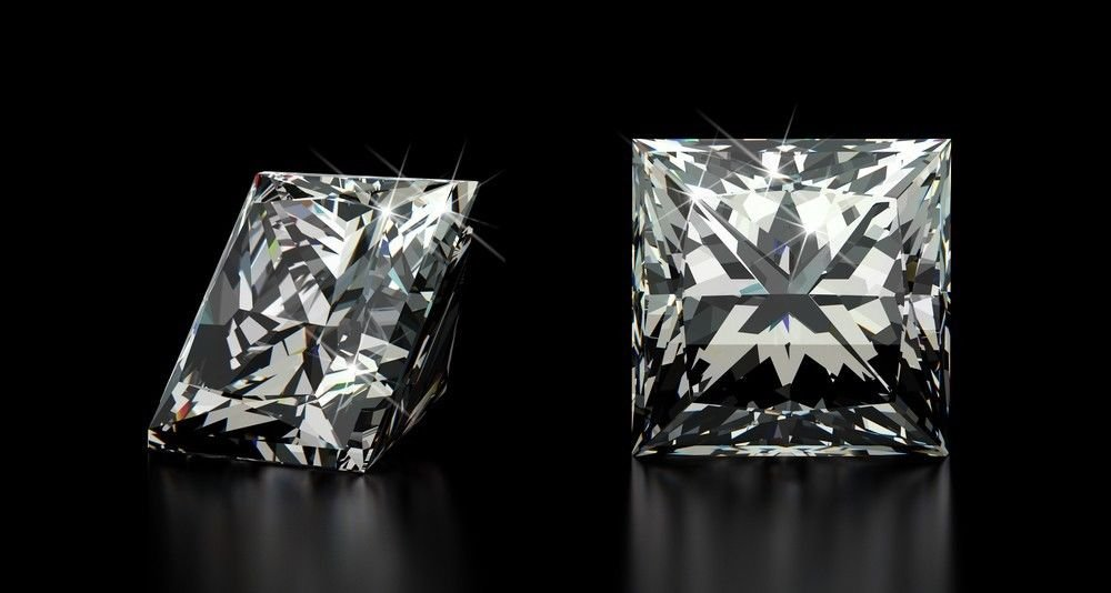 .70 Carat Princess F VS1 100% Natural Certified Loose Diamond CT Certified