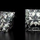 1.56 Carat H SI1 Emerald 100% Natural Loose Diamond Certified 7.7 X 5.3 Nice!