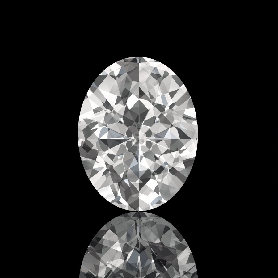 3.43 Carat H SI2 Oval 100% Natural Loose Diamond Certified 12.80*8.05 Must See!!