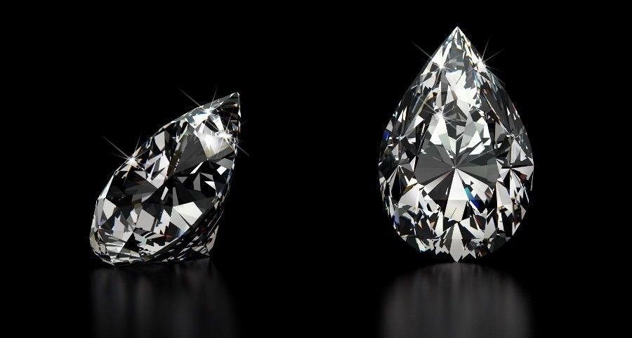 2.03 Carat I I1 Pear Shape 100% Natural Loose Diamond GIA-Laser Very Rare Nice!!