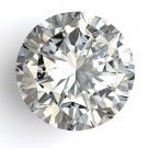2.06 Carat H SI2 Round 100% Natural Loose Diamond Certified 7.88 mm Nice!!