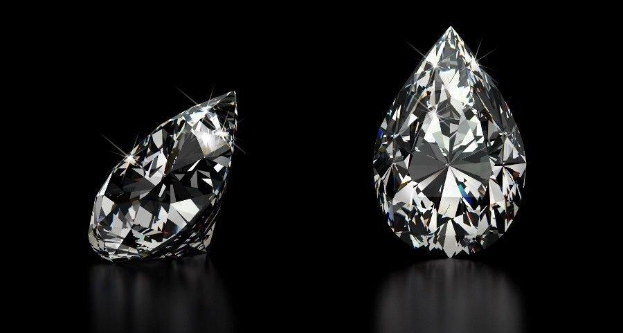 2.67 Carat H VS2 Pear Shape 100% Natural Loose Diamond Certified Must See Nice!!