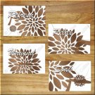 Brown Tan Bathroom Wall Art Pictures Prints Decor Modern Floral Quotes Relax Soak Refresh