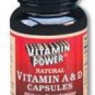 Vitamin A & D - 200U - 250 Softgels