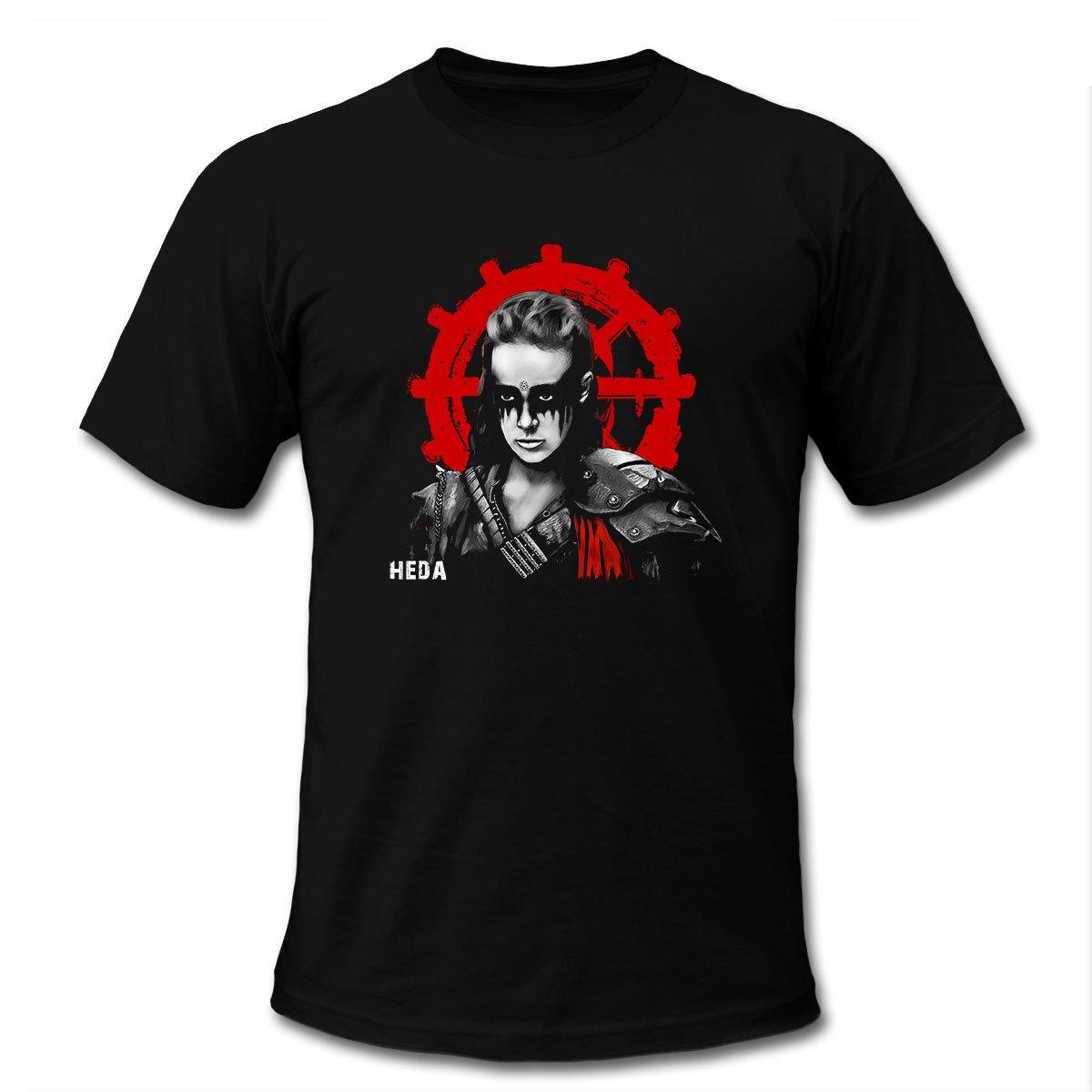 100 Heda Lexa Symbol Black T-Shirt