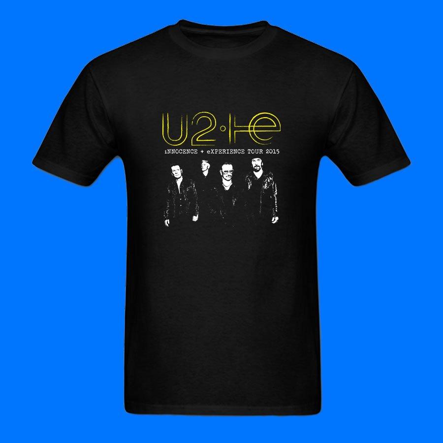 U2 Innocence Experience Tour Black T-Shirt