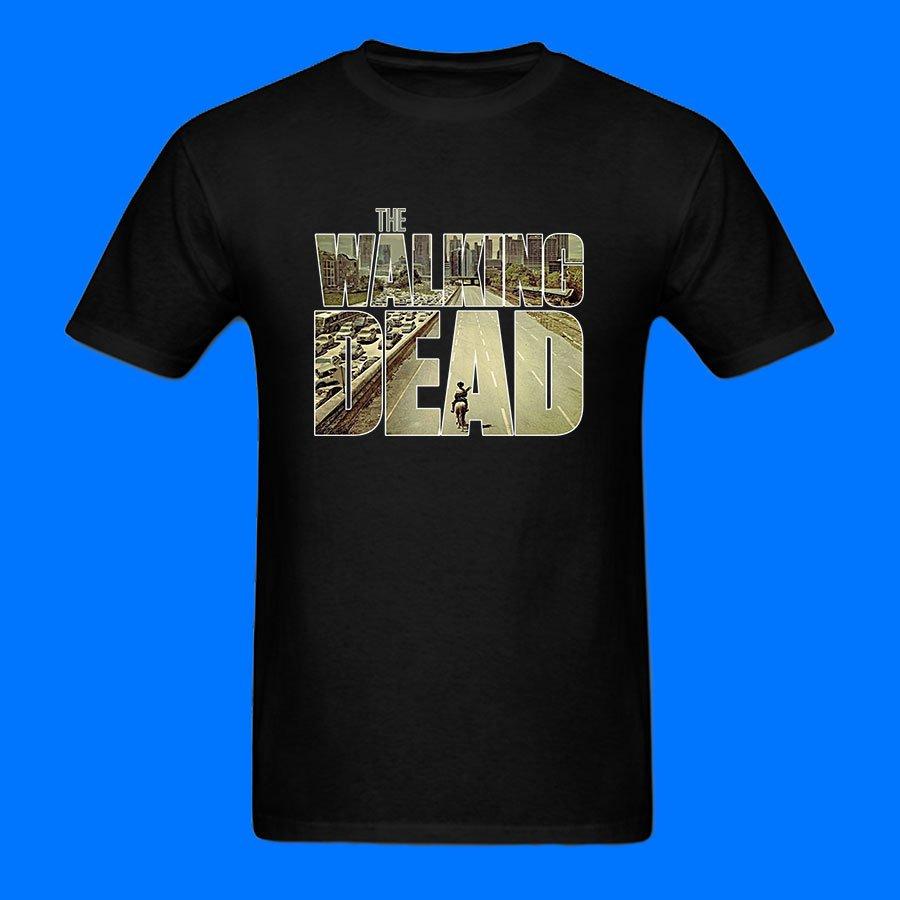 The Walking Dead Zombie movie Men and Women T-shirt