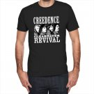 Creedence Clearwater Revival Black and White T-Shirt
