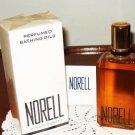 Vintage Norell Perfumed Bathing Oils 4 fl.oz. New in Box. Bath Oil Perfume Women