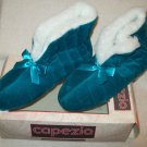 Vintage Capezio Luxury Fabric Slipper Boot Women's Slippers Shoes Sz 5-6 NIB New