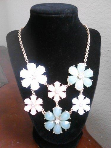Pastel Flower Necklace