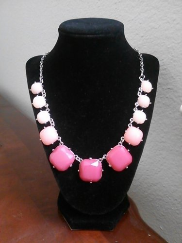 Perky Ombre Pink 3D Style Necklace