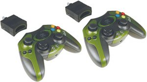 2 Pack Of 2.4 Ghz Wireless Controller - Xbox