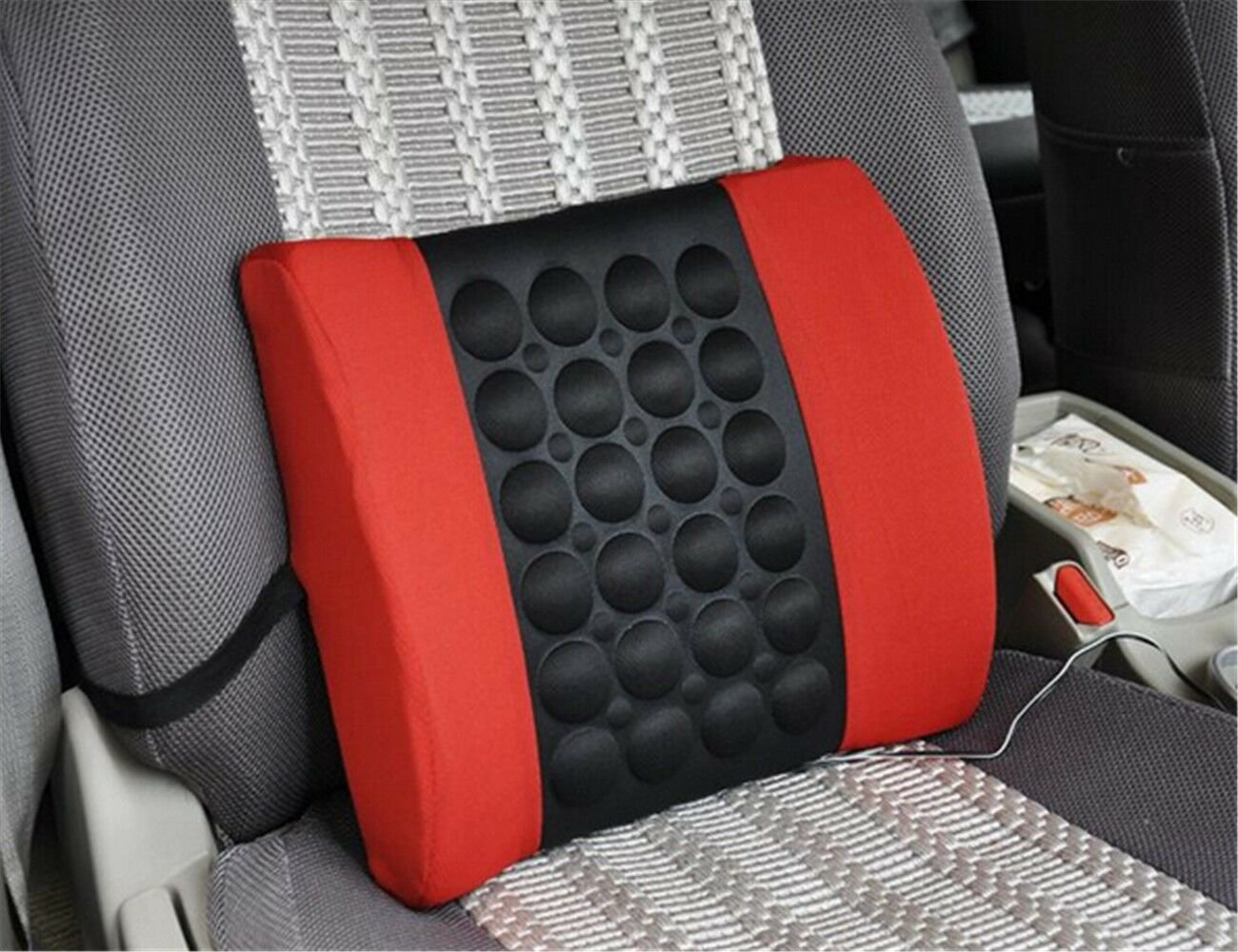 Electric Car Seat Massager Massage Seat Back Cushion Waist support