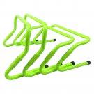 Football Soccer Agility Training PVC Hurdles 15/23/30cm  Height Adjustable