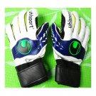 Latex Non-slip Thick Goalkeeper Gloves Roll Finger   green  8