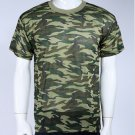 Camouflage Camo Military Army Outdoors Hunting Fishing T Shirt Cotton Green dot