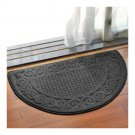 Semi-circle Ground Door Non-slip Mat Carpet