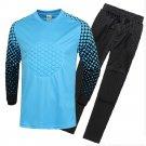 Adult Child Long Sleeve Soccer Football Goalkeeper's Clothes Uniform Jacket Pant