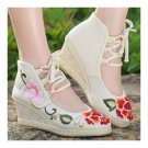 Old Beijing Cloth Embroidered Shoes Classical