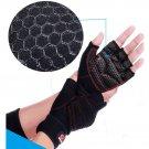 Weight Lifting Gym Gloves Training Fitness Antislip Wareproof Wrist Wrap Workout