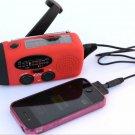 All in 1 SOLAR HAND CRANK DYNAMO RADIO FLASHLIGHT TORCH PHONE CHARGE EMERGENCY
