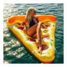 Inflatable Pizza Floating Bed Floating Mat Row