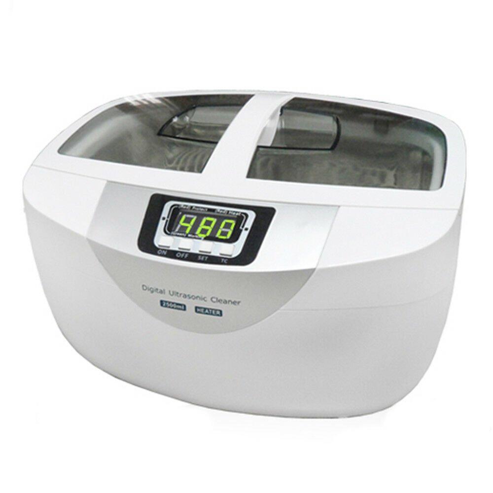 2.5L Professional Digital Ultrasonic Cleaner Machine ABS Plastic tank 110V