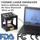 NEJE DK-8-FKZ 1500mW High Speed Mini USB Laser Engraver Carver Automatic DIY