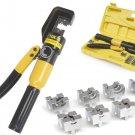 Crimping Tool Kit 8 Ton 4mm - 70mm HYDRAULIC