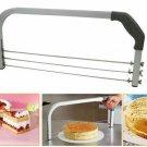 Large 3 Blade Adjustable Interlayer Cake Cutter Slicer Leveler Industry Standard