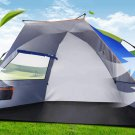 3-4 Person Double Layer Outdoor Automatic Instant Pop Up Waterproof Camping Tent