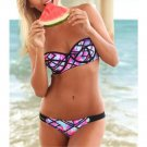 European Style Sexy Bikini Swimwear Swimsuit Bathing Suit  flower