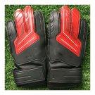 Child Teenager Goalkeeper Gloves Roll Finger   red black   5