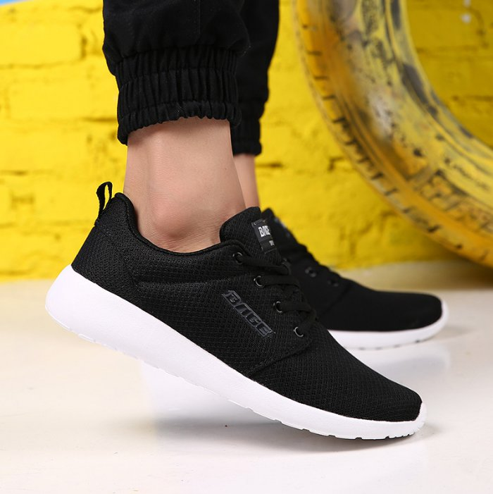 Bage Casual Mesh breathable upper Jogging running scout shoes