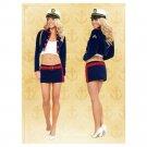 Halloween Garment Cosplay Costume Navy Sailor
