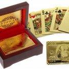 24K Gold Foil Poker playing cards  Poker Casino Vegas Cards