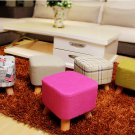 Ottoman footstool Rest stool with 3 legs Paper Mache