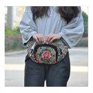 New Original Design Cosmetic Bag Woman's Bag High Volume Waist Bag    copper cra