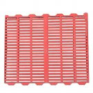 Red Piglet Pig Plastic Floor Board Dung Mesh 50x60