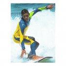 M049 M050 M051 M052 One-piece Diving Suit Wetsuit Surfing   blue with fluorescen