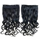 Long Curled Hair Extension 5 Cards Hairpiece
