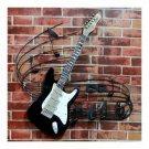 America Vintage Instrument Iron Wall Hanging Decoration   guitar