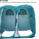 Twin Pop-Up Shower Tent Changing Room with Pad