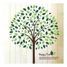 Big Tree Green Wallpaper Wall Sticker AY955