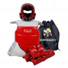 Taekwondo 6pcs Protective Gear Set Adults Kids male 1
